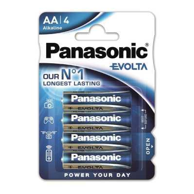 PANASONIC baterije LR6EGE/4BP Alkaline Evolta