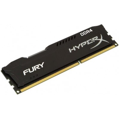 Memorija Kingston DDR4 8GB 2666MHz HyperX Fury Black